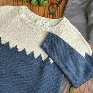 Marine Layer | Chevron Color-Block Sweater